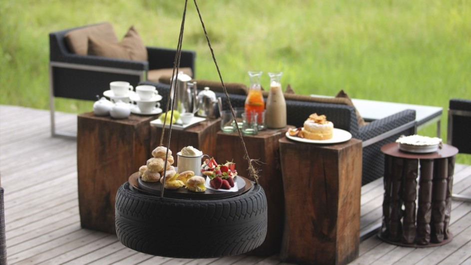 Botswana Okavango Delta Xudum Lodge Essen