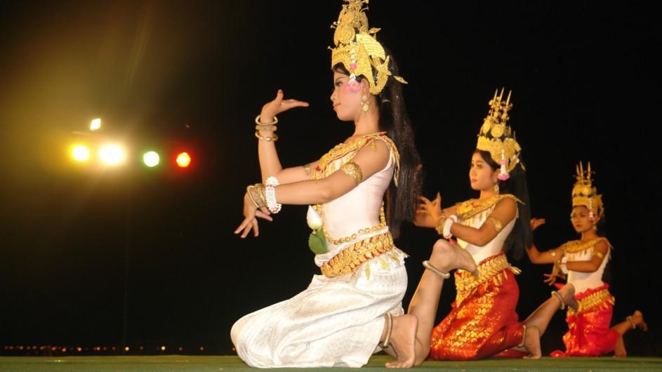 Kambodscha Apsara Tänerinnen