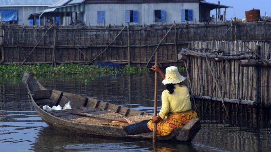 Kambodscha Toot auf dem Tonle Sap