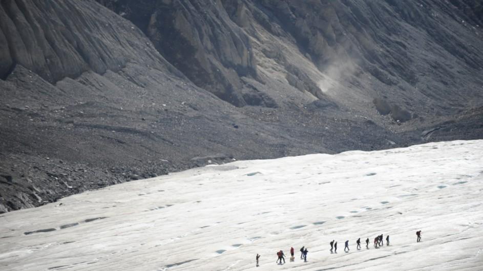Kanada - Athabasca Gletscher