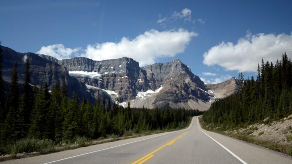 Kanada - Icefield Parkway