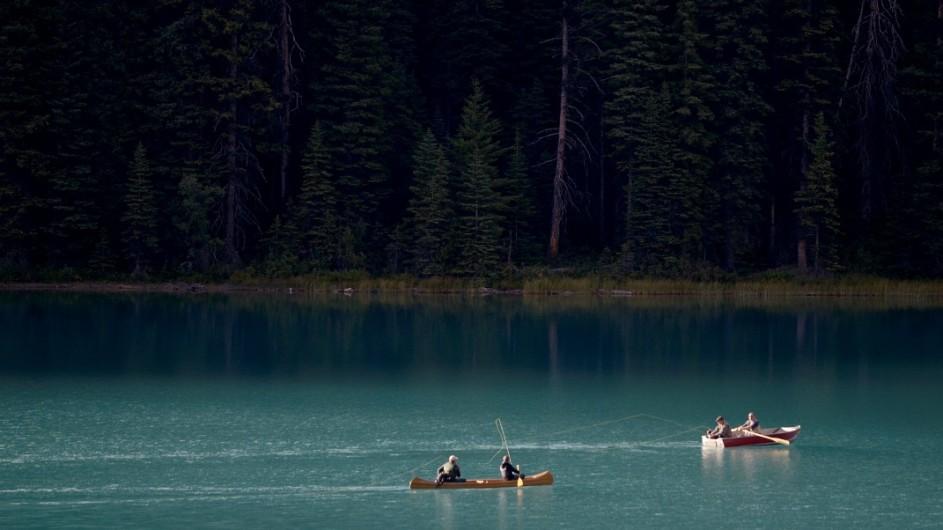 Kanada - Kajak auf dem Emerald Lake