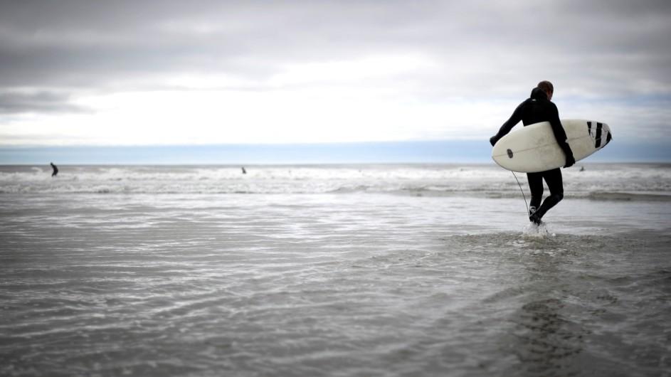 Kanada - Surfer Tofino