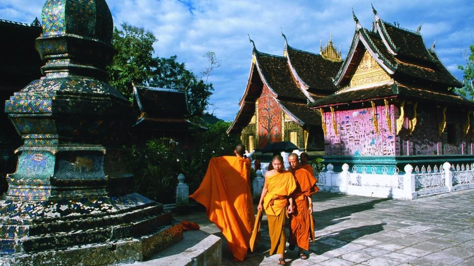 Laos Wat Xieng Thong Luang Prabang