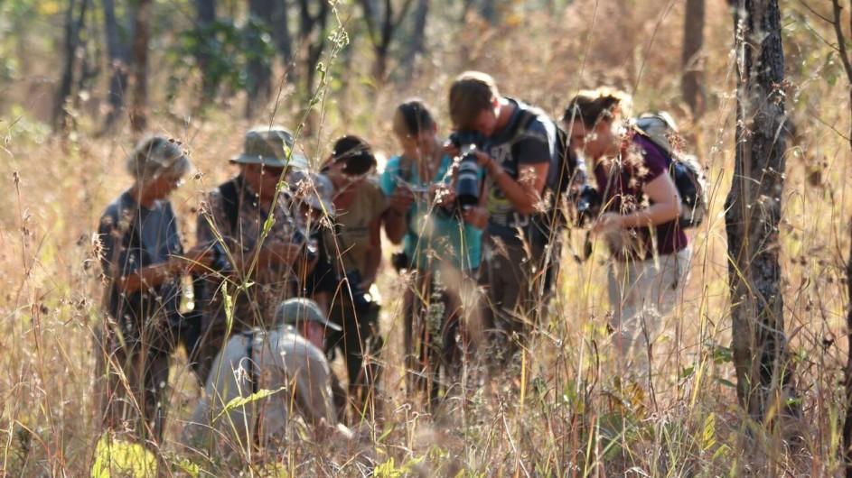 Malawi Dzalanyama Forest Reisegruppe