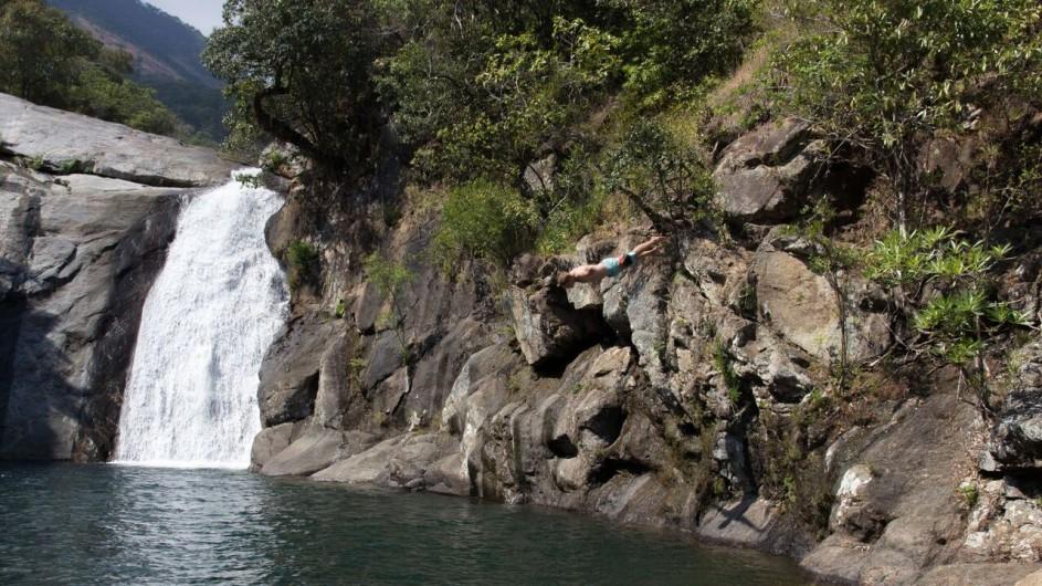 Malawi Mulanje Berge See