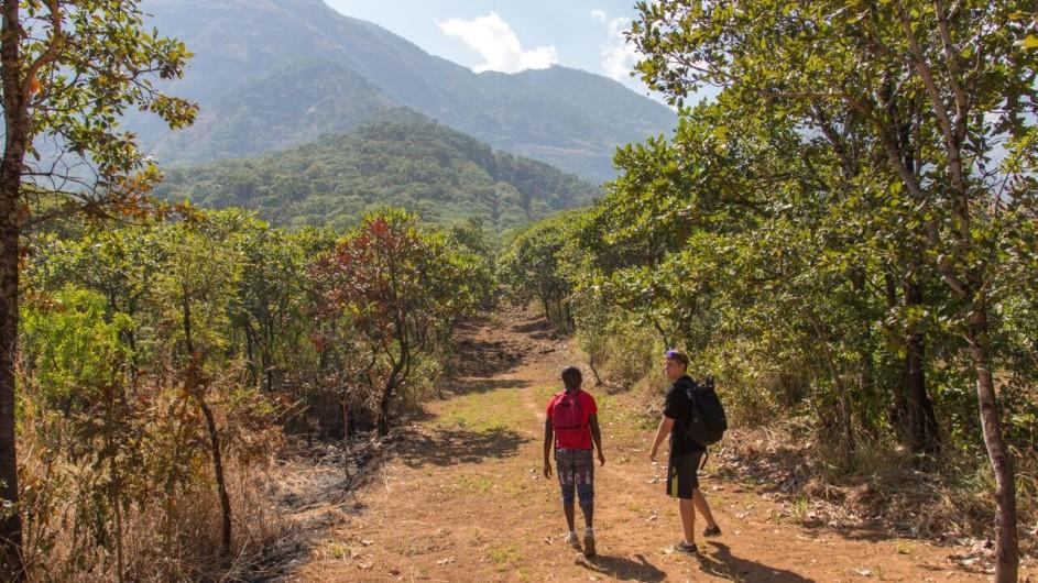 Malawi Mulanje Berge Wanderung