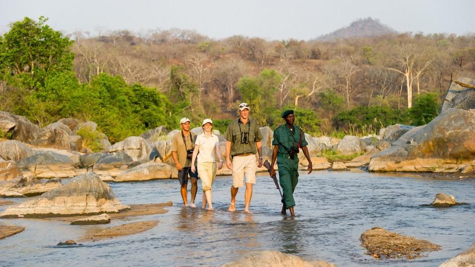 Malawi Mkulumadzi Lodge Fusspirsch