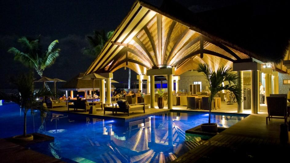Seychellen La Digue Domaine de L´Orangeraie Restaurant