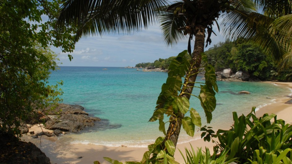 Seychellen Mahe Sunset Beach Hotel Strand