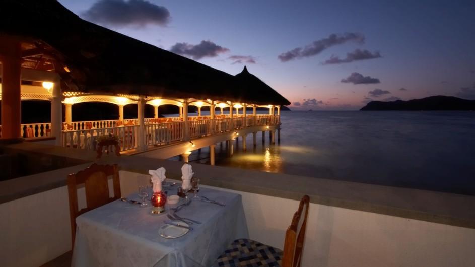 Seychellen Praslin Domaine de la Reserve Restaurant