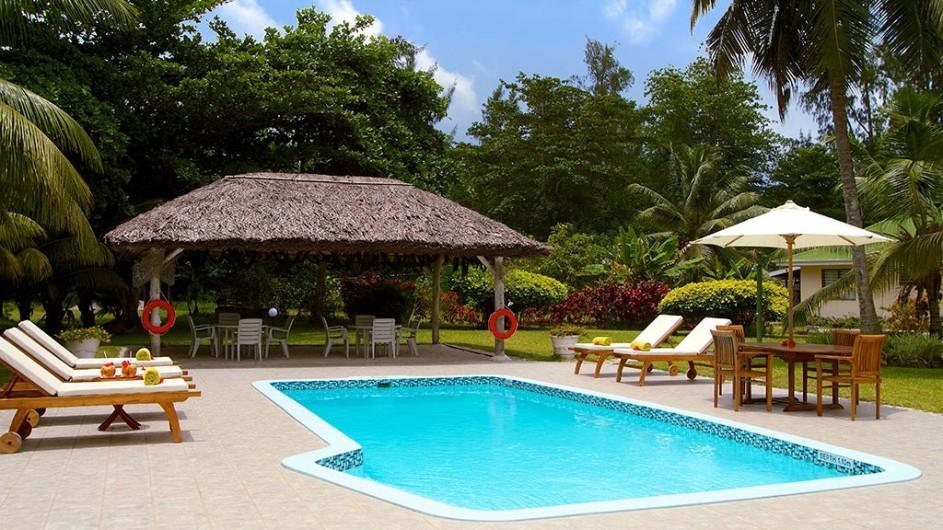 Seychellen Praslin Les Villas D´Or Pool
