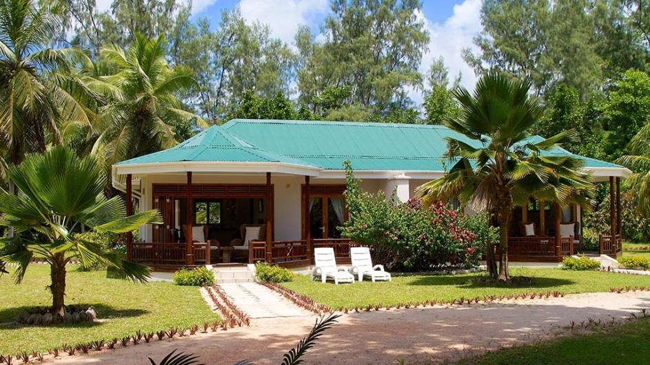 Seychellen Praslin Les Villas D´Or Villa Ansicht