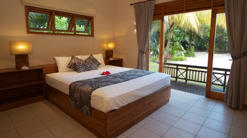 Seychellen Praslin Les Villas D´Or Schlafzimmer