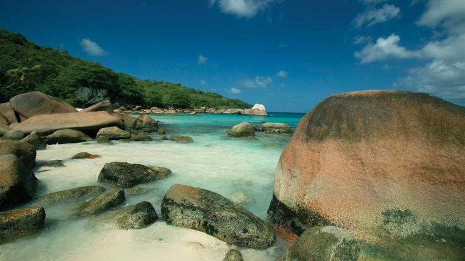 Seychellen Praslin Paradise Sun Strand