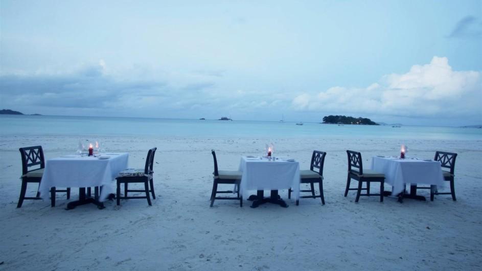 Seychellen Praslin Prasidse Sun Romantisches Dinner