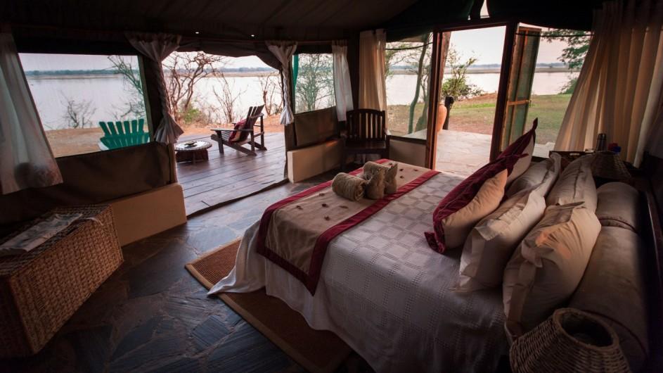Kasaka River Lodge Zimmer