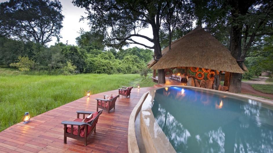 Zambia Nkwali Camp Pool