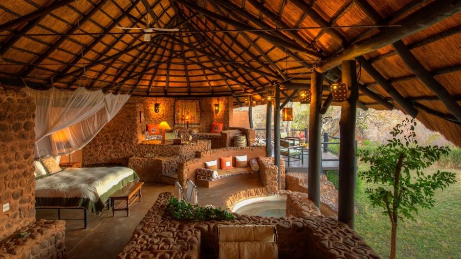 Zambia STanley Safari Lodge Familiensuite