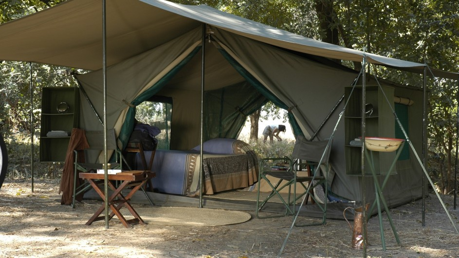 Zambia Wandersafari Zelt