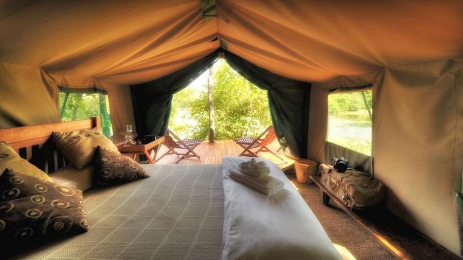 Zimbabwe - African Bush Camps - Kanga Camp - Standard Zelt