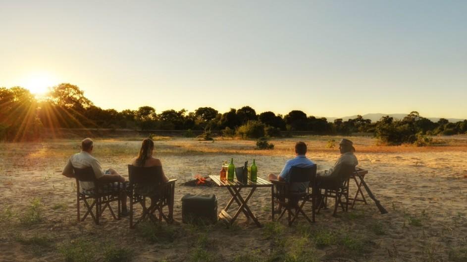 Zimbabwe Kanga Camp Sundowner