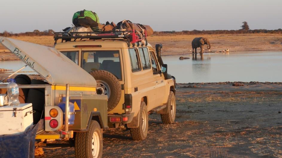 Zimbabwe Hwange Nationalpark Panganani