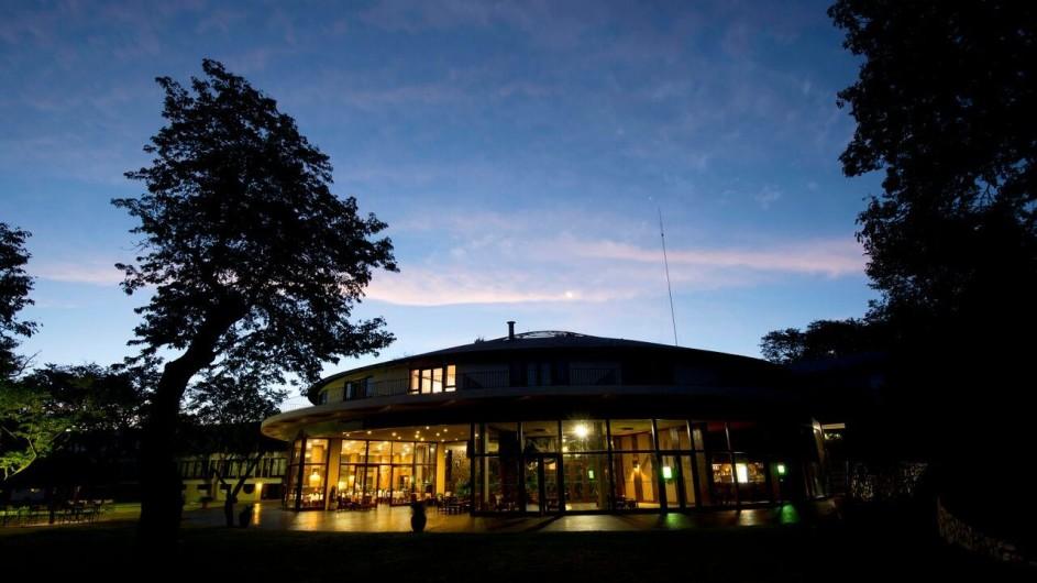 Zimbabwe Hwangwe Safari Lodge Ansicht