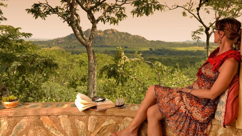 Zimbabwe Musangano Lodge Aussicht