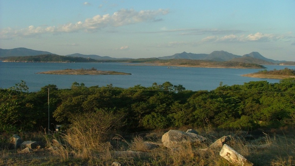 Zimbabwe Norme Jeane´s Lakeview Lodge Aussicht