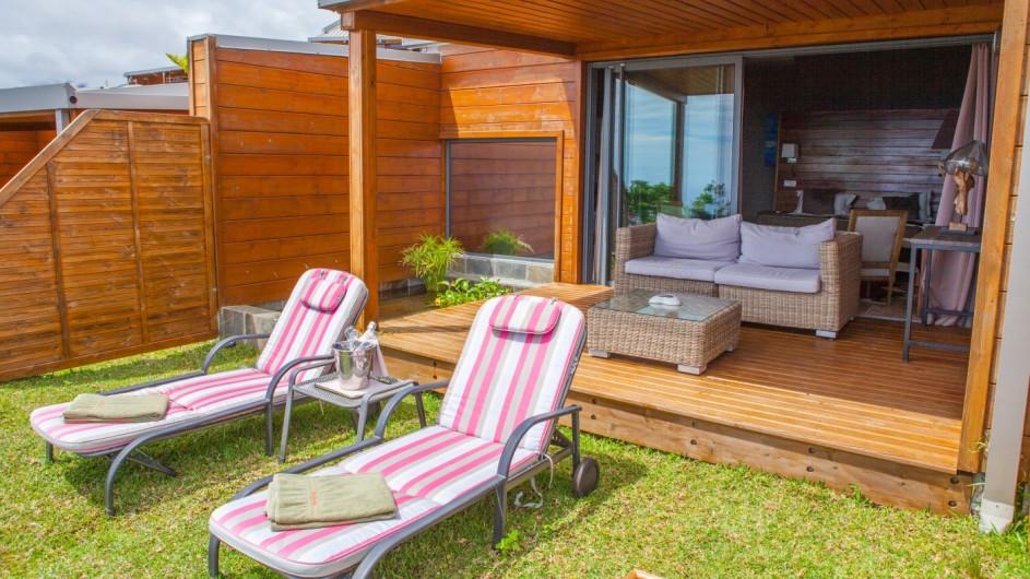 La Reunion Diana Dea Lodge Privilege Zimmer Terrasse