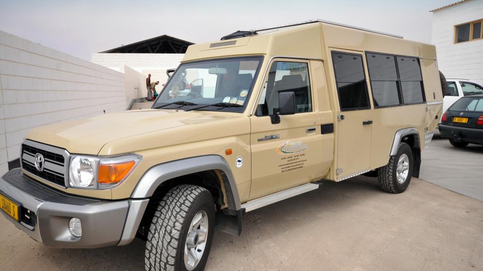 Namibia Diamir Landcruiser