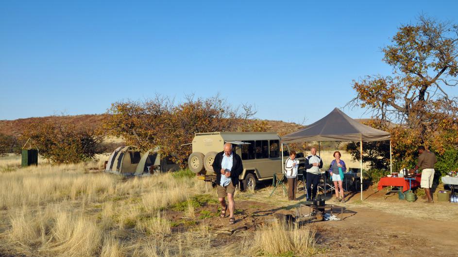 Namibia Zeltcamp