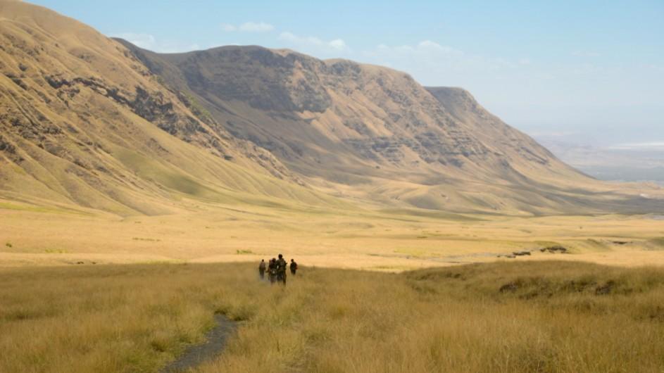 Tanzania Trekking im Kraterhochland