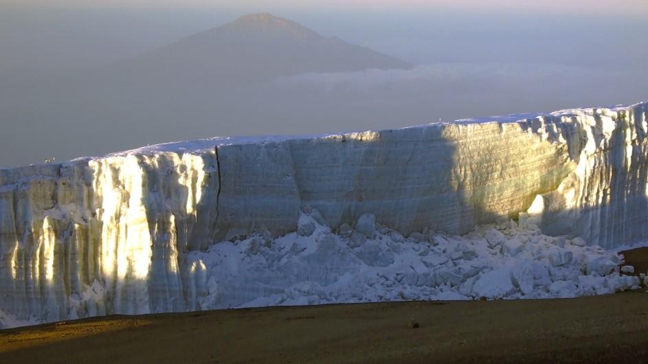 Tanzania Kilimanjaro Trekking Gletscher