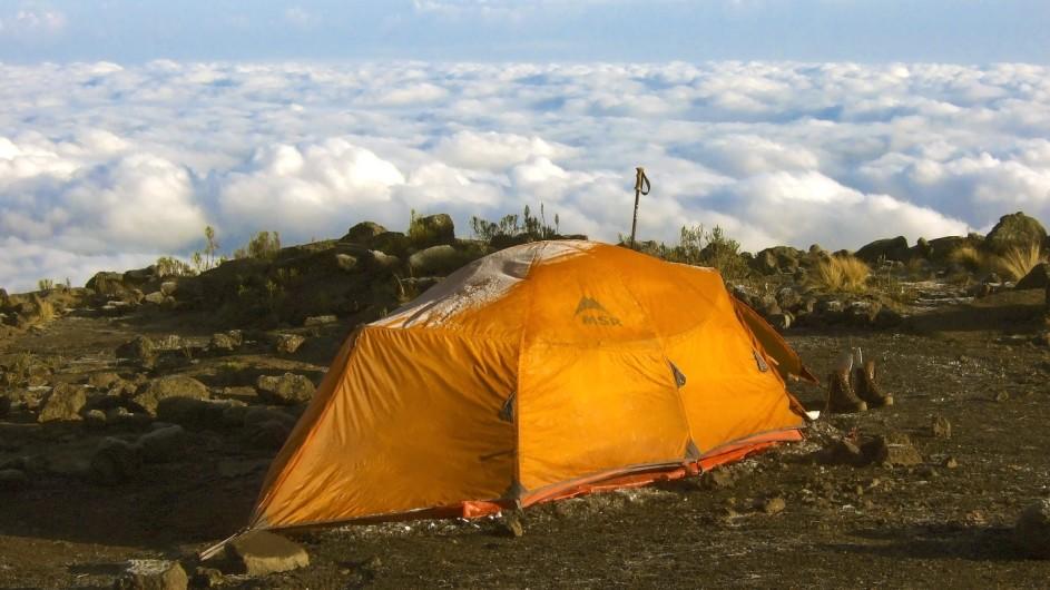 Tanzania Kilimanjaro Trekking Zelt