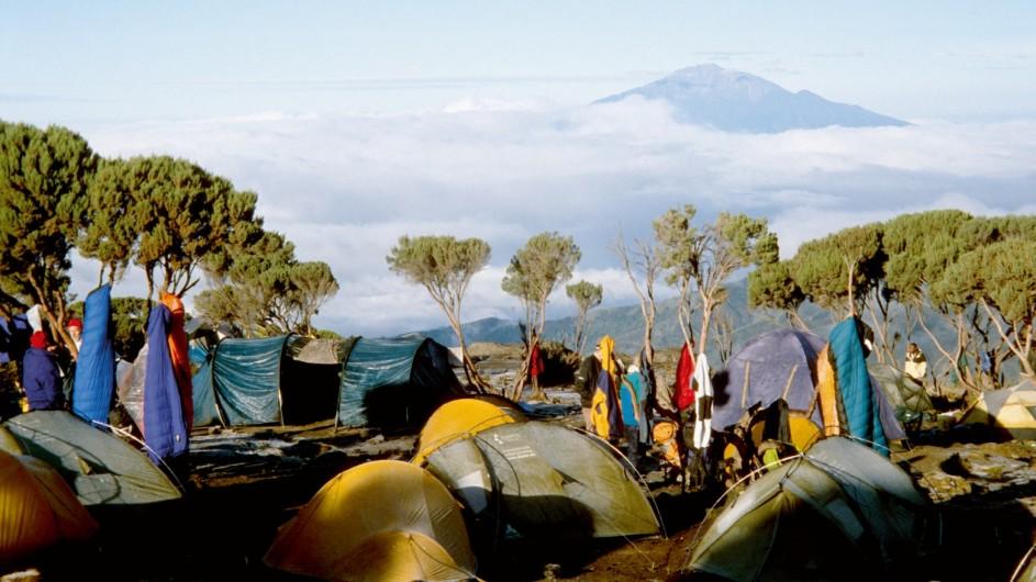 Tanzania Kilimanjaro Trekking Zeltlager