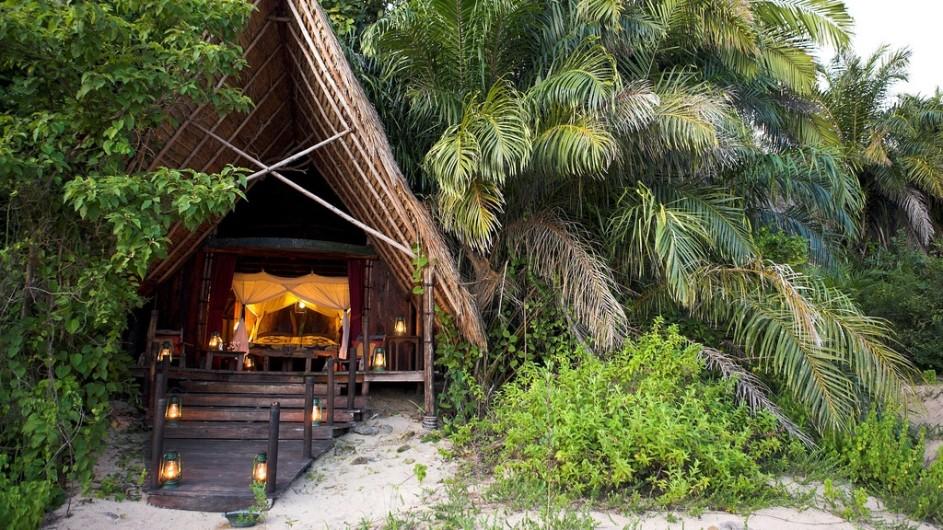 Tanzania Greystoke Mahale Lodge Zimmer