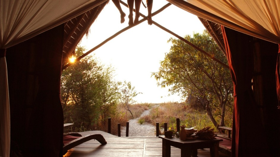 Tanzania Greystoke Mahale Lodge Zimmeraussicht