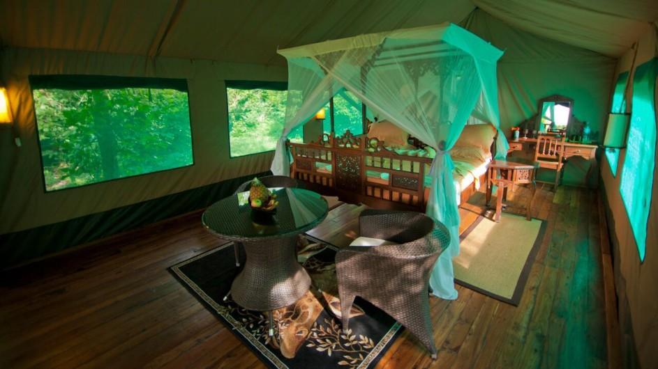 Tanzania Katavi Nationalpark Katuma Bush Lodge Zelt