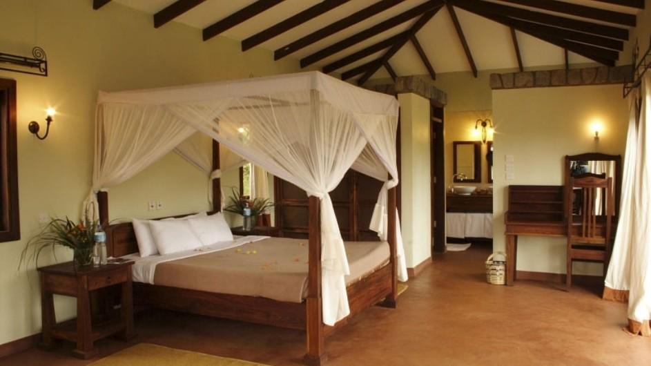 Tanzania Lake Manyara Nationalpark Endoro Lodge Zimmer