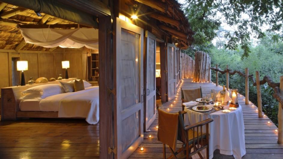 Tanzania Lake Manyara Tree Lodge Zimmer