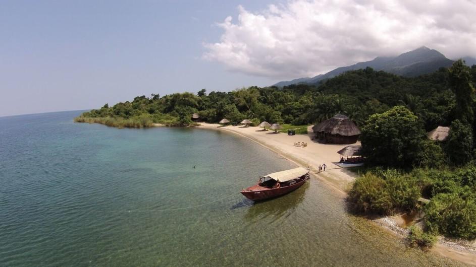 Tanzania Mahale Natinalpark Kungwe Beach Lodge