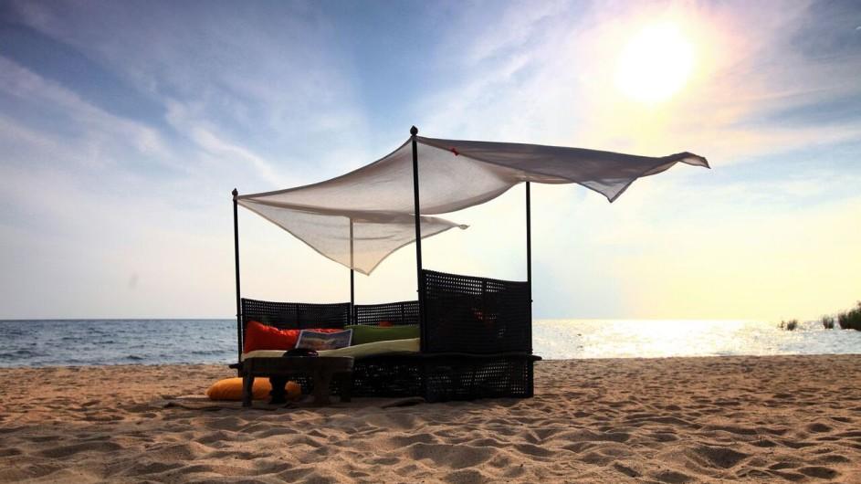 TAnzania Mahale Nationalpark Kungwe Beach Lodge Strand