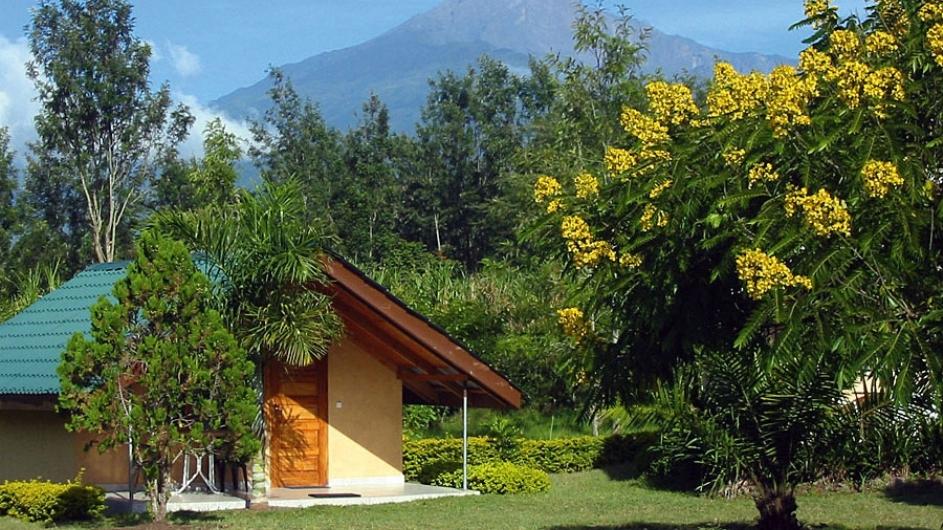 Tanzania Meru View Lodge Zimmanansicht