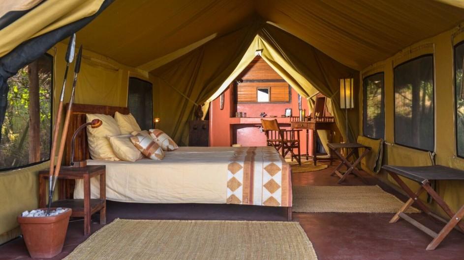 Tanzania Ngorongoro Krater Olduvai Camp Zelt