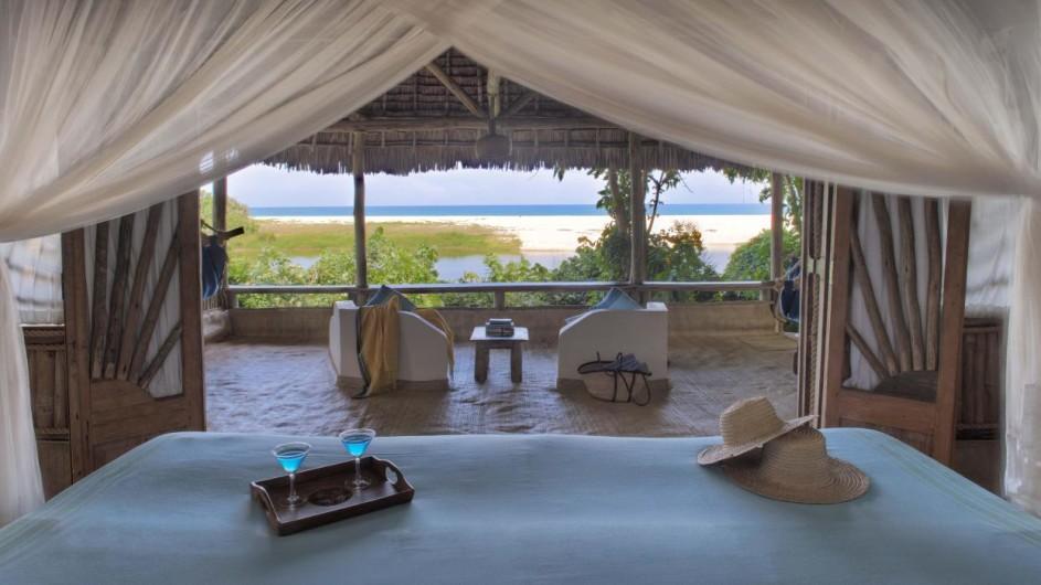 Tanzania Ras Kutani Cottage mit Ausblick