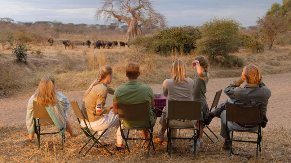 Tanzania Ruaha Nationalpark Jongomero Camp Aussicht