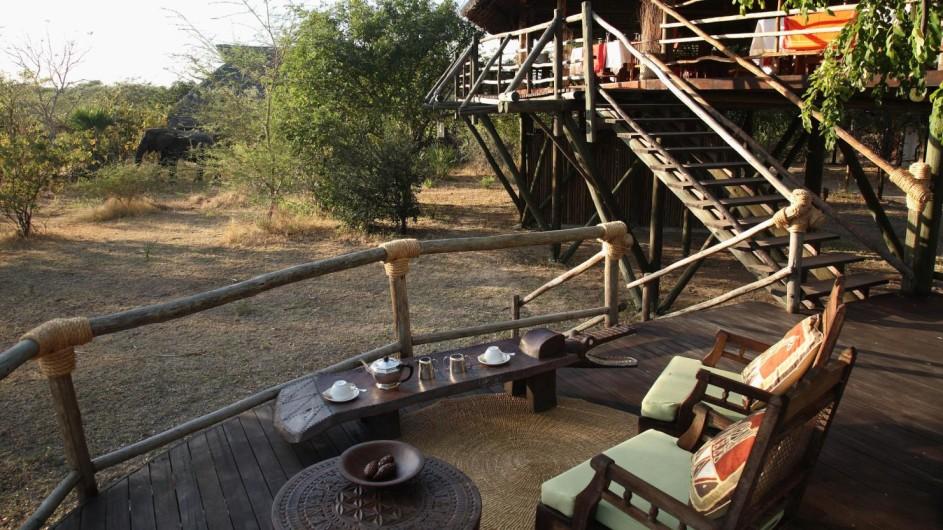 Tanzania Selous Game Reserve Siwandu Lodge