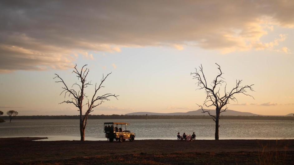 Tanzania Selous Game Reserve Siwandu Pirschfahrt